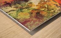 Under the surface Impression sur bois
