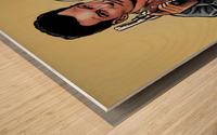 Tarantino: True Romance - Clarence and Alabama Wood print