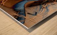 Western Grunge Wood print