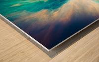 The Crab Nebula Bridge Wood print
