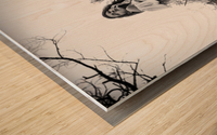 Linquietude dOphelia Wood print