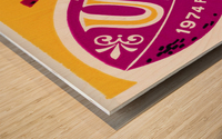 1974 usc california football ticket stub reproduction print Wood print