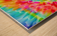 Fractal Art Wood print