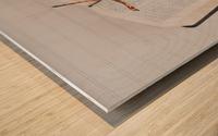 Research Paper Wood print