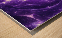 Beyond time Wood print