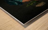 La fidelite Wood print