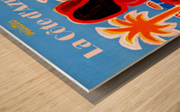Cote D Azur Wood print