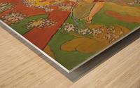 Mucha Spring Wood print