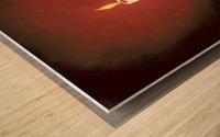 Crimson Dawn copy Wood print