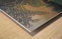 The sentinel tree Wood print