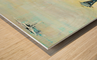 Uptown Seattle  Wood print