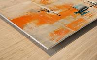 MCM urban II Wood print