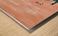 Westown I Wood print