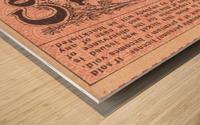 1927 cornell penn ivy league football ticket stub collection Wood print