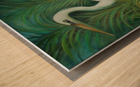 white heron 2 Wood print
