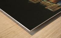 curacao  Wood print