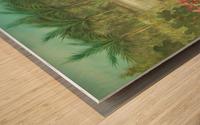 marshes  Wood print
