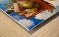 Tree Ship Wood print
