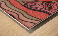 PrideFlame  Wood print