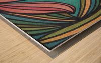 Sirena  Wood print