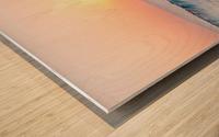 Smooth Wave  Wood print