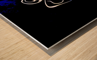 Stickman light comfort Wood print