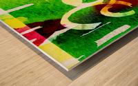 INKED 2020  Wood print