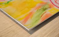 Flower 4  Wood print