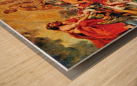 Medici s and the Apotheosis of Henry IV by Rubens Wood print