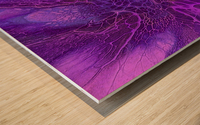 abstract b art17 Wood print