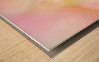 Pink Dream Wood print