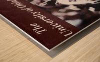 1979 billy sims oklahoma sooners football poster Wood print