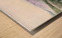 Landscape With Redwood Creek  Wood print