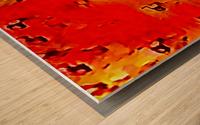 Nature The  Art of Blushing Wood print