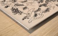 pieceofmyart3 Wood print
