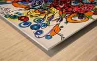 geana pamantului Wood print
