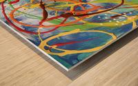 Colour Carnival II Wood print