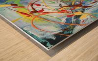 Colour Carnival I Wood print
