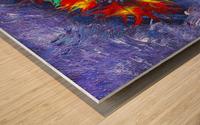 Infinity Wood print