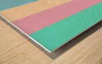 Pastel Palette Wood print