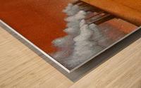 dark industry Wood print