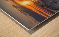 Couche soleil Penouille Impression sur bois