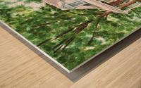 East Coast Summer Wood print