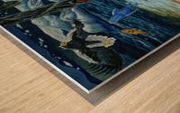2000 025 Wood print