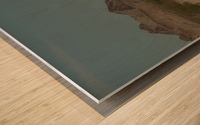 Desert Wave Wood print