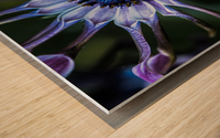 purple alien Wood print