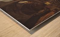 Veduta della piazza del Duomo dal Coperto dei Figini Wood print