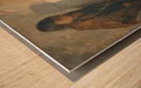 Spazzacamini, la rottura del salvadanaio Wood print
