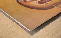 Boulangerie Wood print