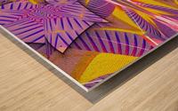 Lotus In The Pink 2 Wood print